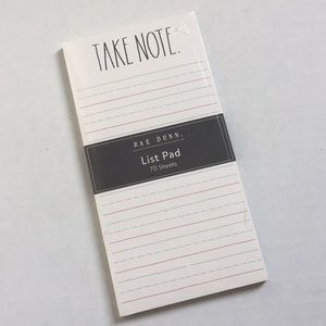✨ Rae Dunn Note Pad ✨